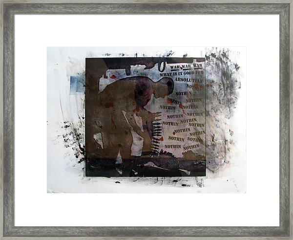 D U Rounds Project, Print 1 Framed Print