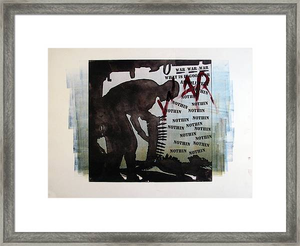 D U Rounds Project, Print 2 Framed Print