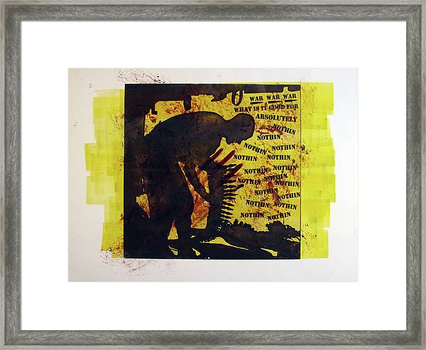 D U Rounds Project, Print 3 Framed Print