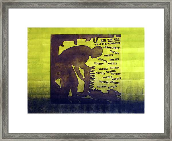 D U Rounds Project, Print 11 Framed Print