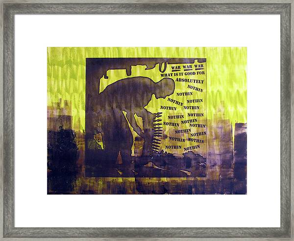 D U Rounds Project, Print 12 Framed Print