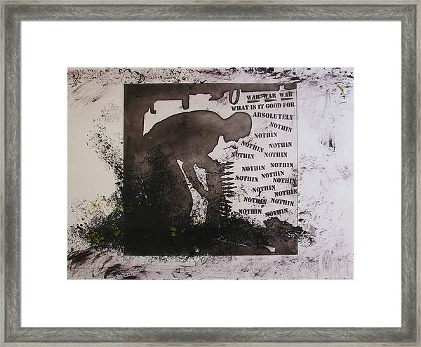 D U Rounds Project, Print 13 Framed Print