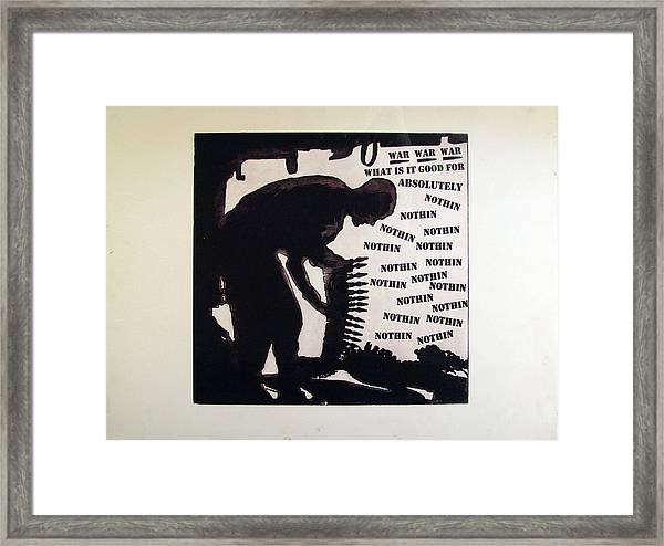 D U Rounds Project, Print 20 Framed Print