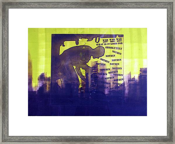 D U Rounds Project, Print 24 Framed Print
