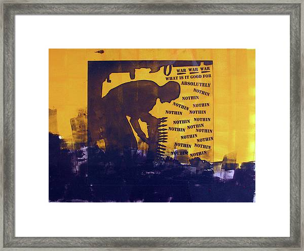 D U Rounds Project, Print 25 Framed Print