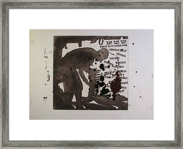 D U Rounds Project, Print 26 Framed Print