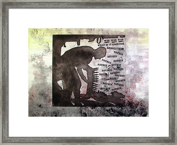 D U Rounds Project, Print 30 Framed Print