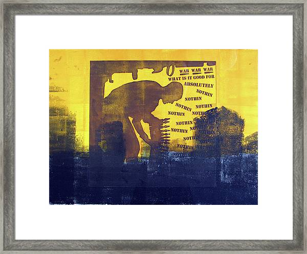D U Rounds Project, Print 31 Framed Print