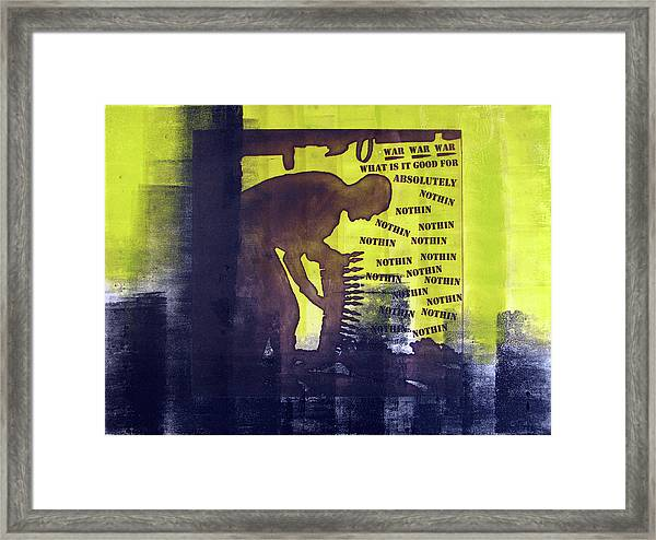 D U Rounds Project, Print 32 Framed Print