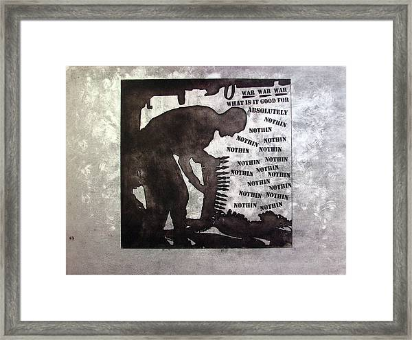 D U Rounds Project, Print 36 Framed Print