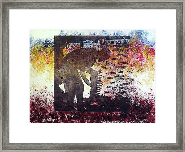 D U Rounds Project, Print 37 Framed Print