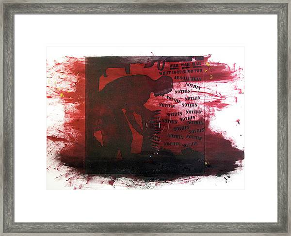 D U Rounds Project, Print 38 Framed Print