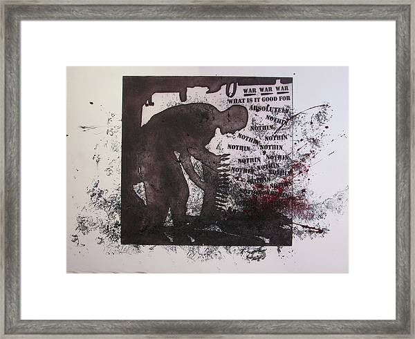 D U Rounds Project, Print 40 Framed Print