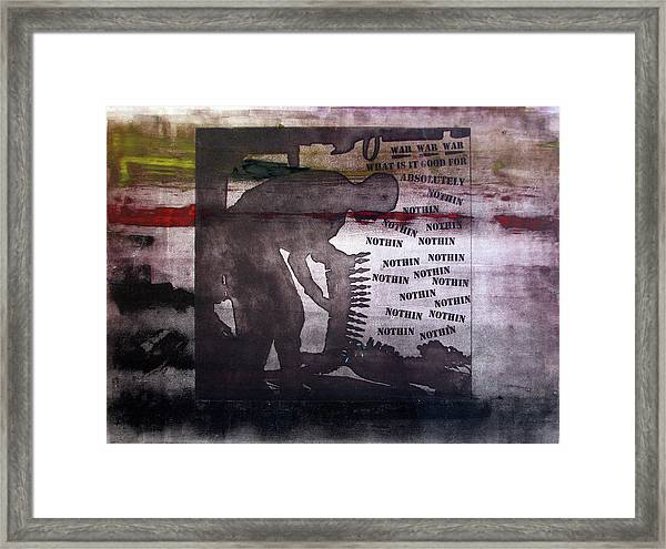 D U Rounds Project, Print 42 Framed Print
