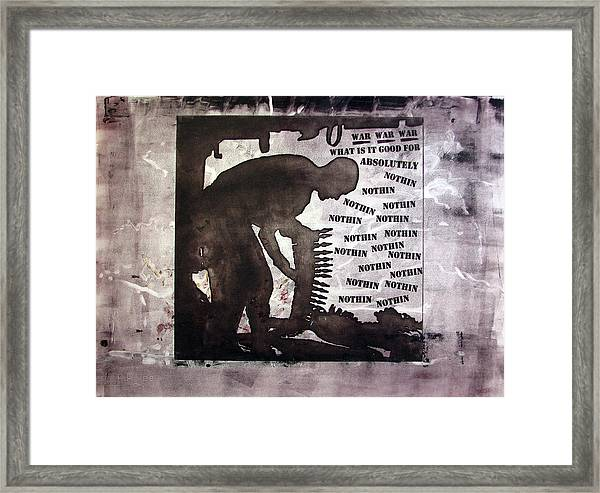 D U Rounds Project, Print 43 Framed Print