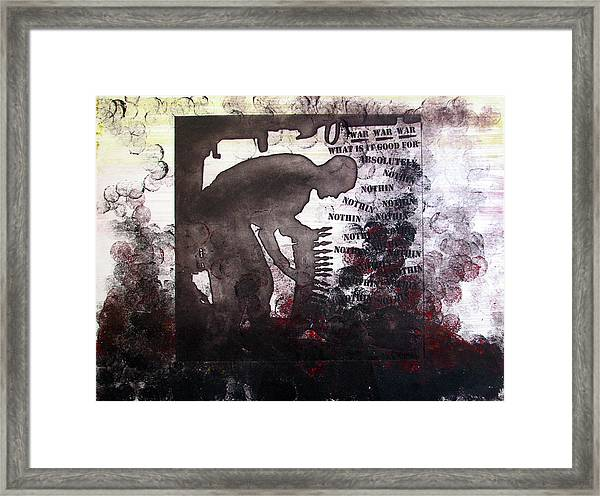 D U Rounds Project, Print 46 Framed Print