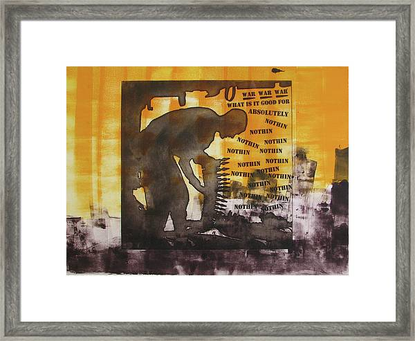 D U Rounds Project, Print 49 Framed Print