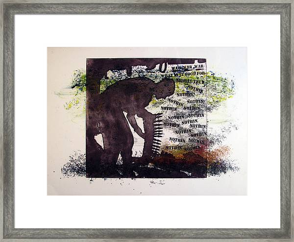 D U Rounds Project, Print 5 Framed Print