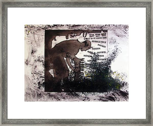 D U Rounds Project, Print 50 Framed Print