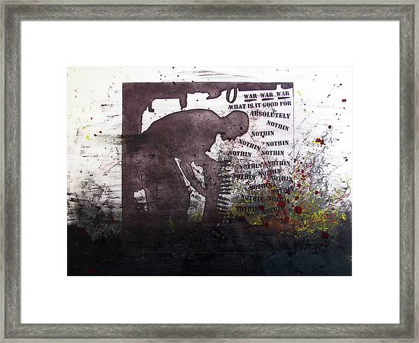 D U Rounds Project, Print 51 Framed Print
