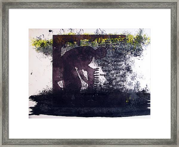 D U Rounds Project, Print 6 Framed Print