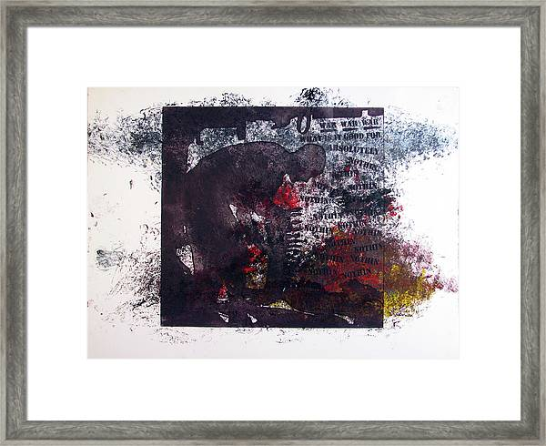 D U Rounds Project, Print 7 Framed Print