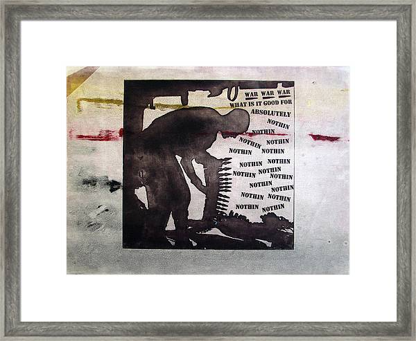 D U Rounds Project, Print 8 Framed Print
