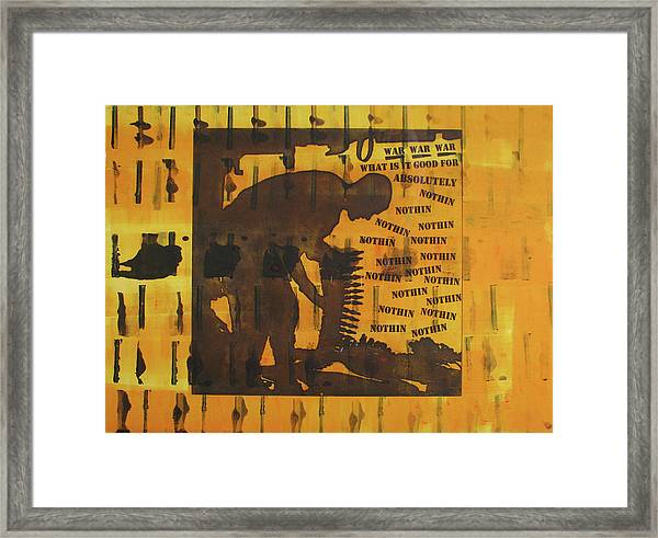 D U Rounds Project, Print 9 Framed Print