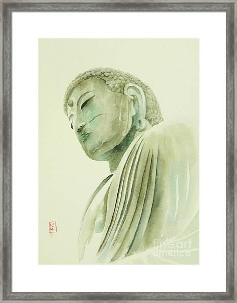 Daibutsu Framed Print