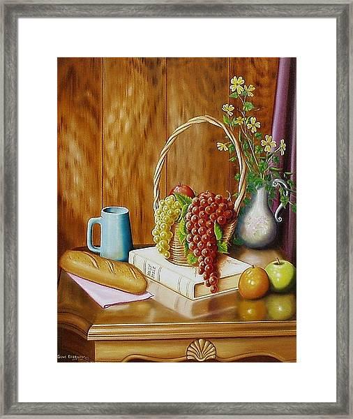 Daily Bread Framed Print