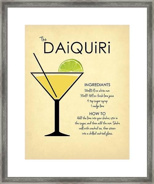 Daiquiri Framed Print