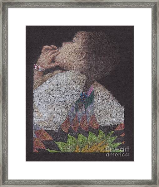 Dakota Babe Framed Print