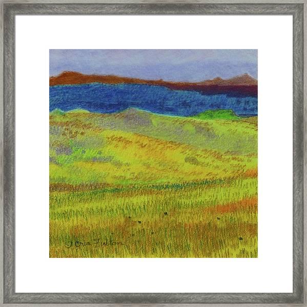 Dakota Dream Land Framed Print