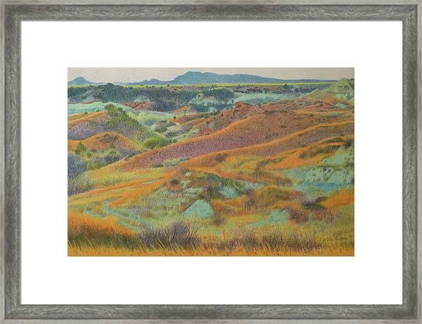 Dakota October Framed Print