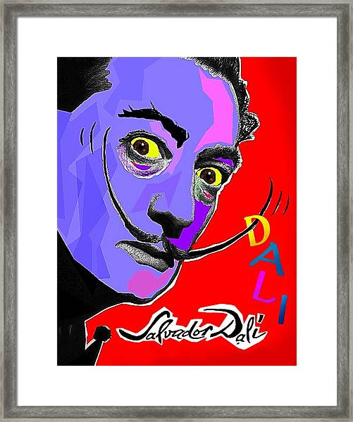 Dali Dali Framed Print
