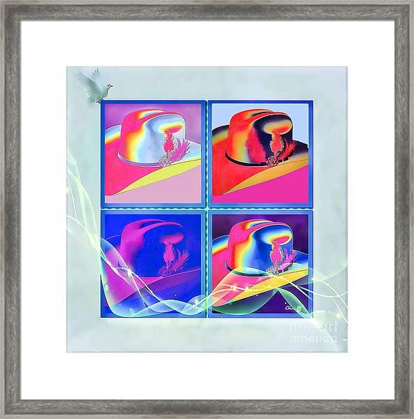 Framed Print featuring the digital art Dallas by Eleni Mac Synodinos