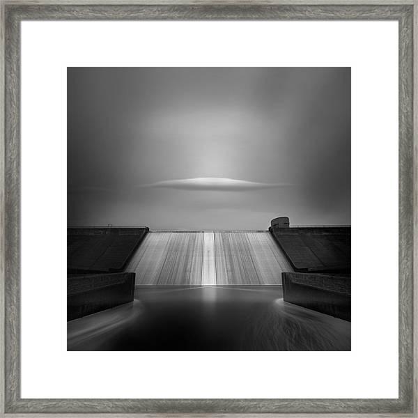 Dam Cloud Framed Print
