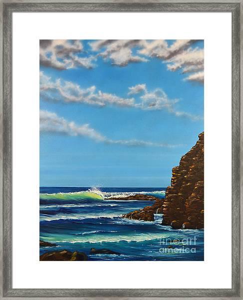 Dana Point Walk Framed Print