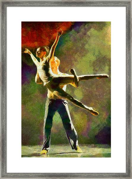 Dance 3 Framed Print