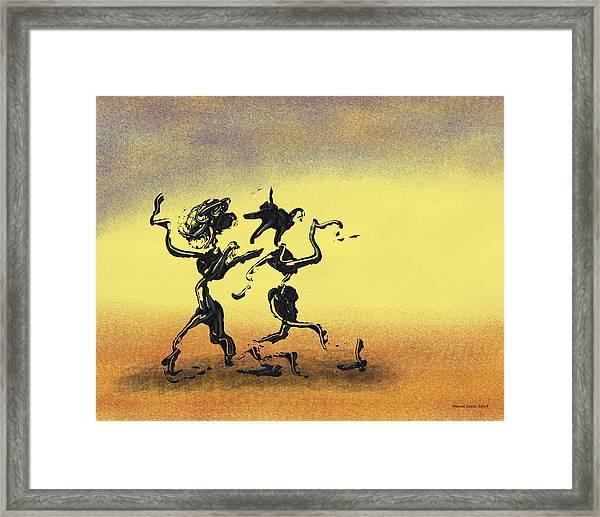 Dance I Framed Print
