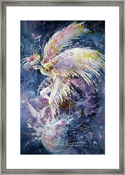Dance In Flight Framed Print
