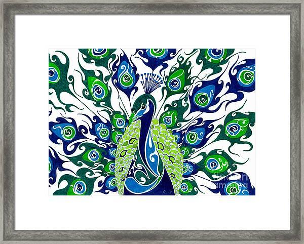 Dance In The Rain.. Framed Print