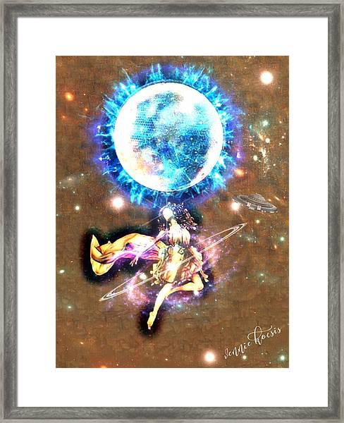 Dance Me To The Moon Framed Print