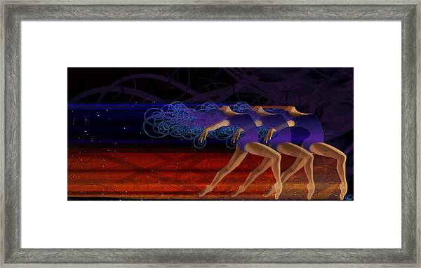Dance Of The Moirai Framed Print