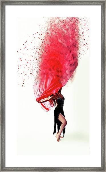 Dance Of The Viel Framed Print