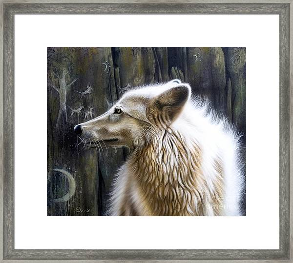 Dance -the Moon Framed Print