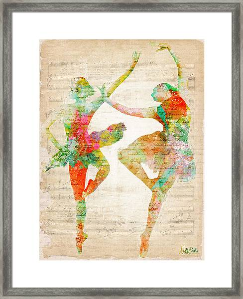 Dance With Me Framed Print