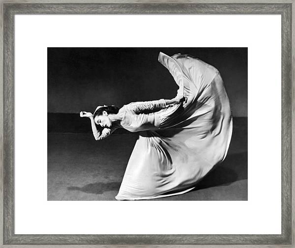 Dancer Martha Graham Framed Print