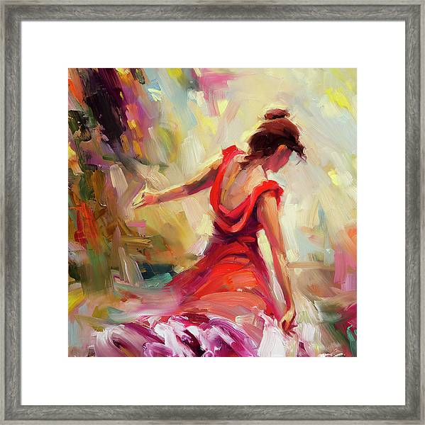 Dancer Framed Print