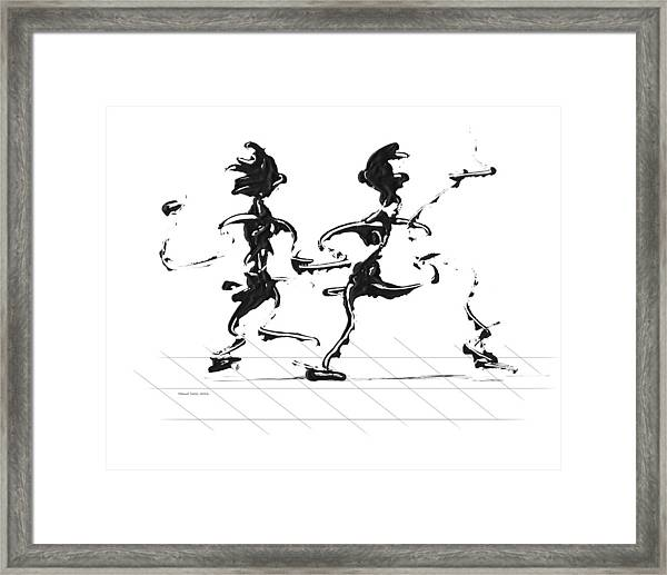 Dancing Couple 3 Framed Print